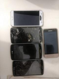 Celuares Lg E Samsung