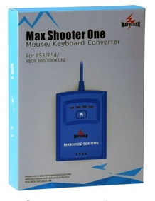 Max Shooter One Teclado Mouse Ps4 Xbox 360 Ps3 Xbox One S