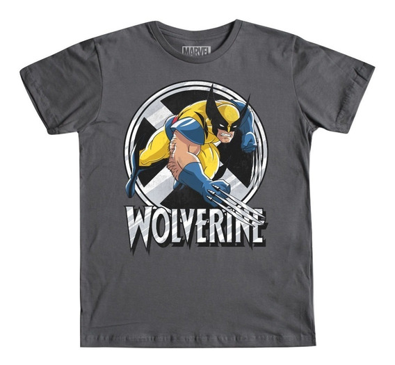 Playera Wolverine 2 Mascara De Latex X-men