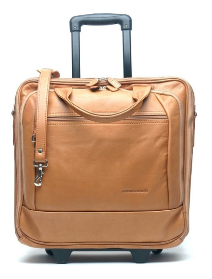Maletin Carry On Cuero Traveller Carro Notebook 17 Business