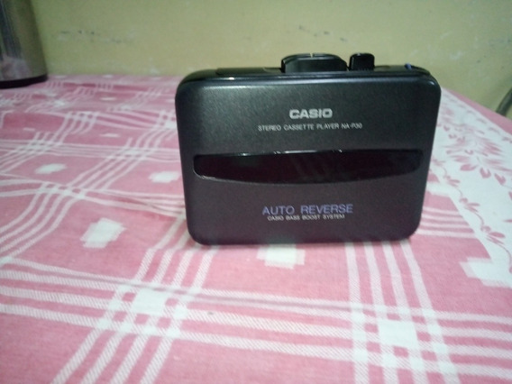 Walkman Casio Com Auto Reverse E Bass Boost