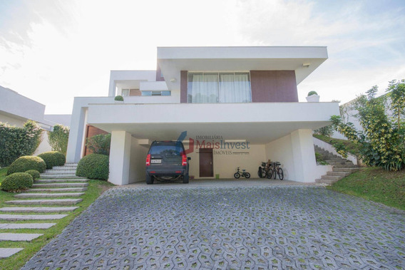 Casa Com 3 Dormitórios À Venda, 406 M² - Alphaville Graciosa - Pinhais/pr - Ca0082