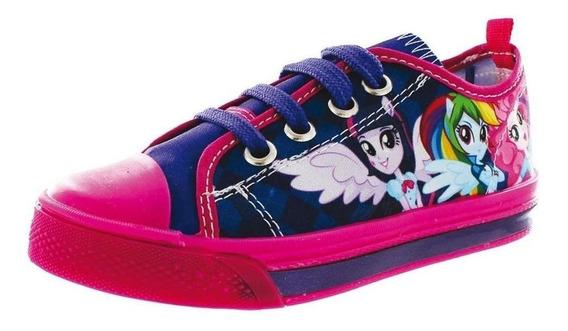 Calzado Kids Niña Tenis Casual Little Pony Morado Cómodo