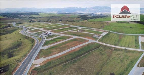 Terreno Com 504 M² No Condomínio Ecopark - Caçapava - Te0131