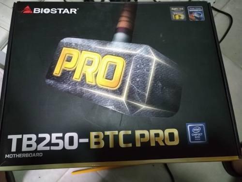 Placa Mãe Biostar Tb250 Btc Pro