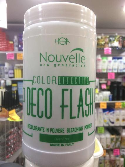 Decolorante Deco Flash Italiano 400 Gramos.