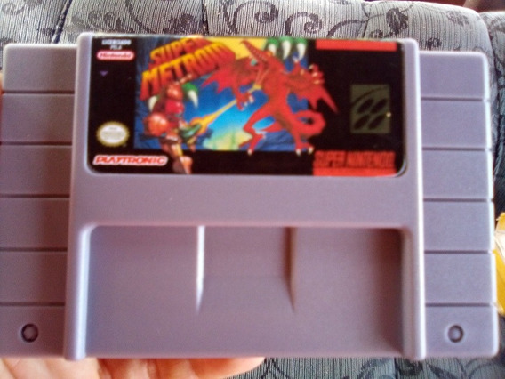 Super Metroid Paral. Salvando Super Nintendo Snes