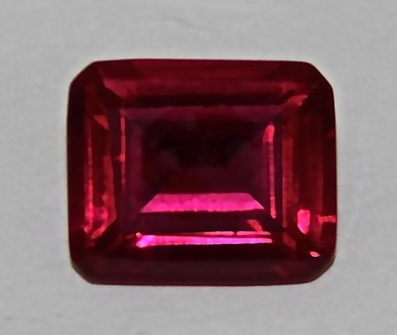 Rsp 3708 Rubi Sangue De Pombo Octogonal 12x10mm Com 7,05 Ct