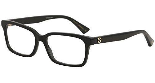 Gafas Graduadas Gucci Gg0168o Unisex Rectangular - 2 Tamaños