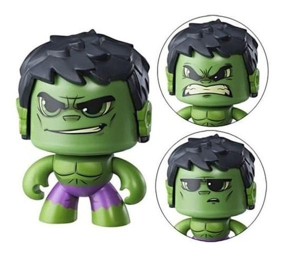 Boneco Hulk De Ação Mighty Muggs Marvel Pop Vingadores