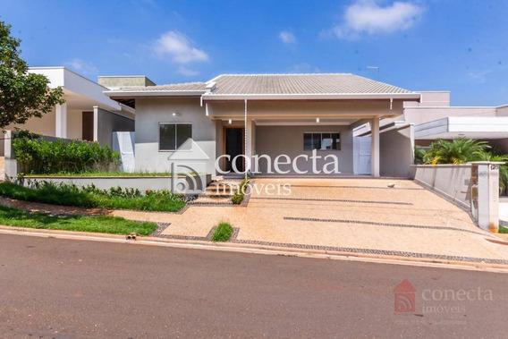 Casa Com 4 Dormitórios À Venda, 207 M² Por R$ 1.040.000,00 - Condomínio Terras Do Cancioneiro - Paulínia/sp - Ca1222