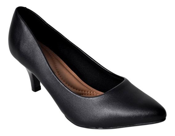 Zapato Clásico Mujer Stilletos Massimo Chiesa Venecia Cómodo