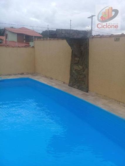 Casa Com 4 Dormitórios Para Alugar, 190 M² Por R$ 2.200/mês - Residencial Parque Augustus - Itanhaém/sp - Ca0677