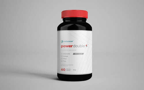 Natucorps Power Double 60 Cápsulas Veganas