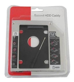 Adaptador Caddy Dvd Para Hd Ssd Notebook Drive 9.5 Ou 12.7