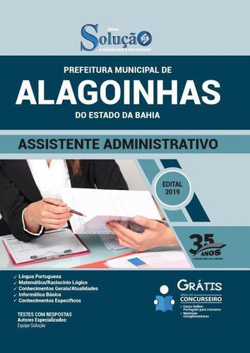 Apostila Alagoinhas Ba - Assistente Administrativo
