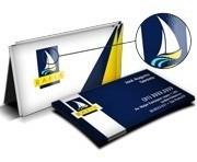 1.000 Cartões De Visita Verniz Localizado