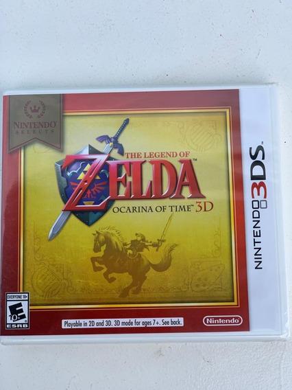 Jogo The Legend Of Zelda Ocarina Of Time 3d De Nintendo 3ds