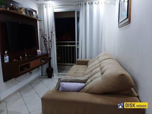 Apartamento Com 2 Dormitórios À Venda, 48 M² Por R$ 275.000,00 - Paulicéia - São Bernardo Do Campo/sp - Ap0007