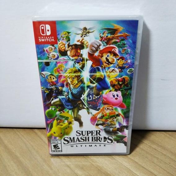 Super Smash Bros Ultimate Switch Novo Lacrado