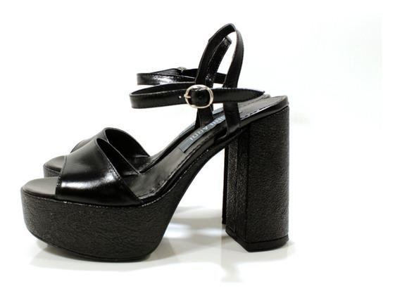 Sandalia Zapato Mujer Cuero Fiesta Diseño Lola By Ghilardi