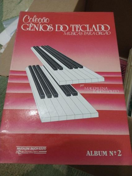Coleção Gênios Do Teclado Músicas Para Órgão Álbum Nº 2