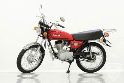 Honda Cg 125 1981 82 - Original - Antiga - Bolinha - Moto
