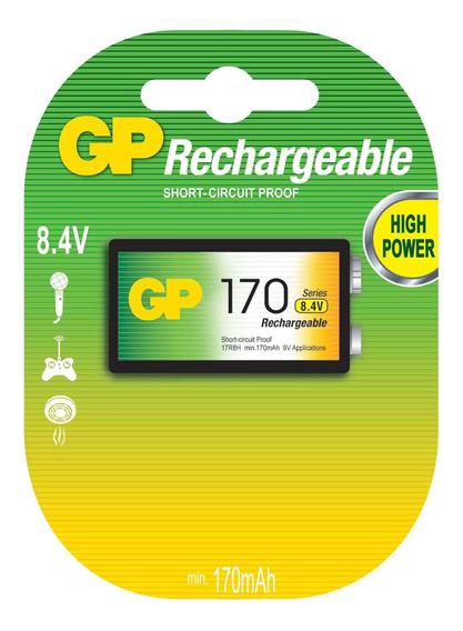 Bateria Recarregvel 8.4v Nimh 170 Gp17r8h-c1 - Gp Batteries