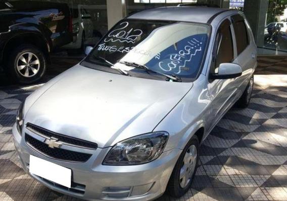 Chevrolet Celta 1.0 Mpfi Ls 8v Flex 4p Manual 2012 Cor Prata