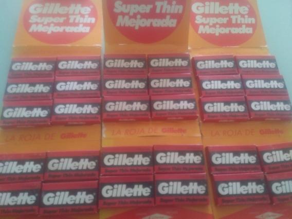 Hojillas Gillette Barberia