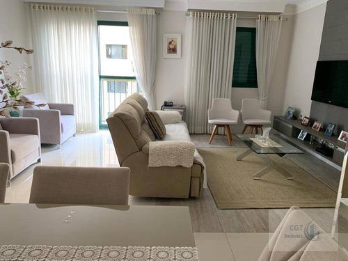 Belissimo Apartamento De 80m² No Centro De Alphaville - Ap1769