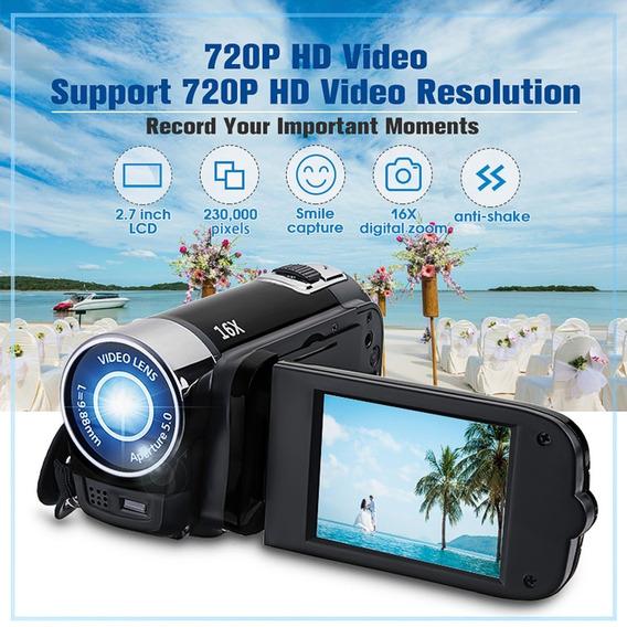 Camera Digital Full Hd 1080p 16mp 2.7 Polegadas 16x Zoom