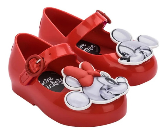 Sapatilha Mini Melissa Sweet Love + Mickey And Friends