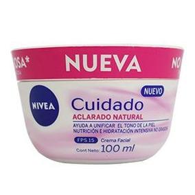 Crema Nivea Facial Nueva Aclarado Natural