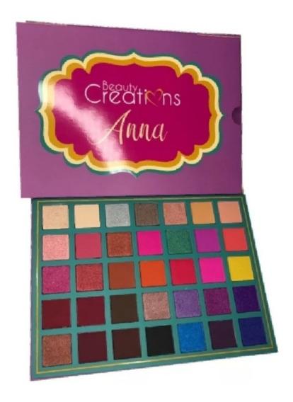 Paletas De Sombras Beauty Creation Jazmin Y Anna