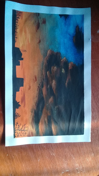 Retrato De Paisaje, Landscape, Dibujo, Art...