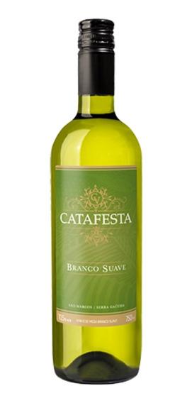 Vinho Branco De Mesa Suave Tradicional Catafesta 750ml