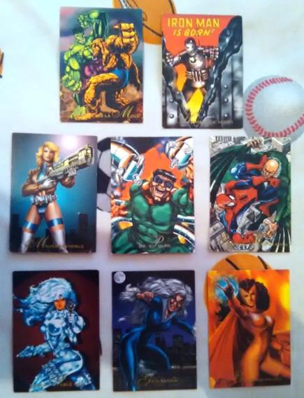 Pepsi Cards Marvel Spiderman Xmen Avengers
