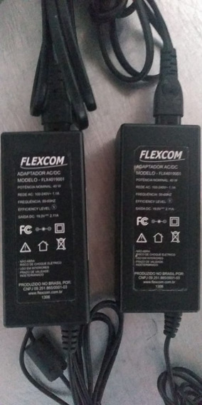 Fonte Carregador Notebook Itautec A7520 Flexcom 19v 2.1a