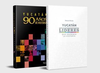 Paquete Promocional Libros Yucatán Líderes & 90 Años
