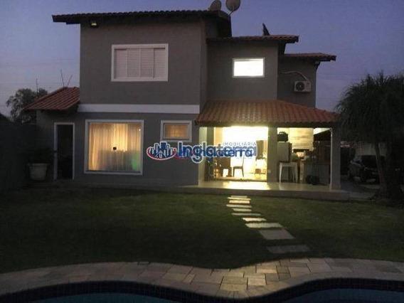Casa À Venda, 250 M² Por R$ 950.000,00 - Granville Parque Residencial - Londrina/pr - Ca0791
