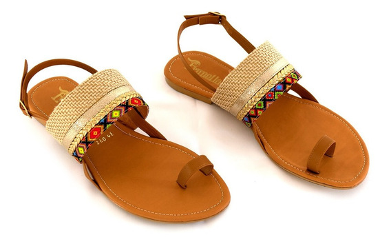 Zapatos Sandalia Dama Sandalias Huaraches Chanclas Mujer Huarache Dama Colores Modelos Diseño Calidad -01