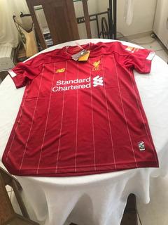 Camisa Liverpool Home Jersey Nb 2020-importada Da Inglaterra