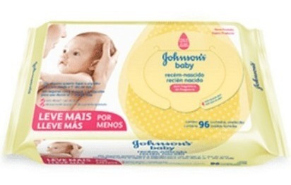Toallitas Humedas Johnsons Baby Recien Nacido 96 X 12 Paquet