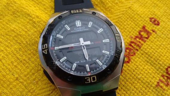 Relógio Casio Aq 164w - Raro