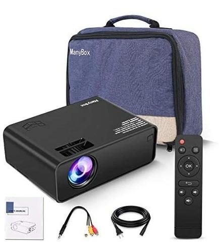 Mini Proyector Manybox 4500 Lúmenes Full Hd 1080p Hdmi Vga
