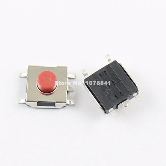 Chave Botão Táctil 5pin Smd 6x6x3.1mm - 10 Unidade