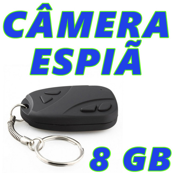 Chaveiro Camera Fotografica Discreta Espia Micro Usb 8gb