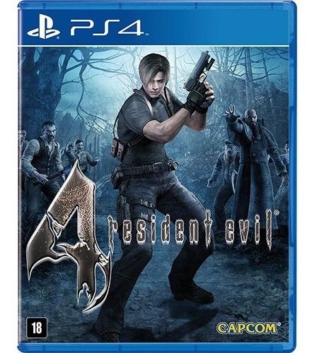 Jogo Playstation 4 Resident Evil 4 Ps4 Lacrado