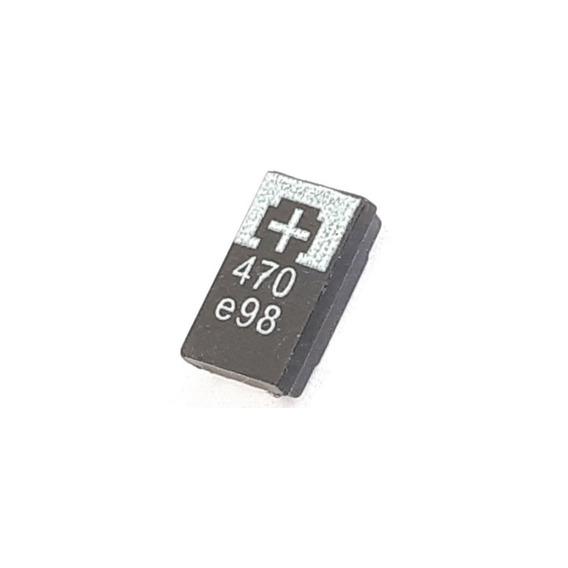 20pçs Capacitor De Tântalo Tantalo 470uf 2,5v Ps3 Frete 8,00